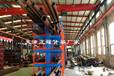 北京西城管材貨架伸縮懸臂貨架鋼材擺放架鋁型材架子