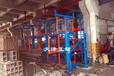 江蘇淮安鋼材貨架分類擺放幾十種規格的鋼材節省空間擺放整齊