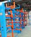 山东济南伸缩式悬臂货架新项目改善管材钢材棒料存储车间
