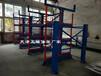 江蘇蘇州管材存放方式伸縮懸臂式管材貨架節省空間擺放整齊