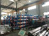 河南鄭州鋼材貨架鋼管擺放架伸縮懸臂貨架鋁型材架子軸貨架