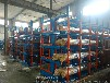 青海西寧鋼材貨架伸縮式結構管材存放架鋁型材架子軸貨架