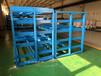 山西太原板材貨架分類存放9種板材存儲量27噸