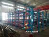 福建福州管材貨架手動搖出式結構吊車存放配合切管機使用