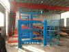 浙江寧波型材貨架配合吊車使用分類擺放多種型材