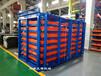上海鋼板貨架鋁板存放架抽屜式板材貨架銅板擺放架