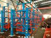 遼寧大連管材庫鋼材車間規范化管理伸縮式懸臂貨架
