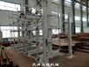 山東濟寧鋼管貨架伸縮懸臂式結構車間鋼管規范化管理