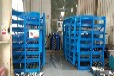 山東棗莊鋼板貨架抽屜式板材貨架鋁板存放架銅板擺放架