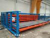 福建廈門板材貨架激光切割機設備鋼板存放架省空間設計
