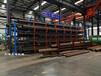 浙江杭州管材貨架管道存放架伸縮懸臂式鋼管擺放架