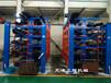 廣東陽江管材貨架伸縮式結構使用行車存放的重型貨架