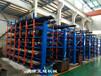 廣東湛江放角鋼的貨架伸縮懸臂式結構吊車存放角鋼方便節省