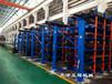 浙江杭州鋼材貨架伸縮懸臂式結構12米鋼材存放規格尺寸