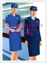 上海空姐服房地产销售服客服工作服前台制服定做亿妃服饰