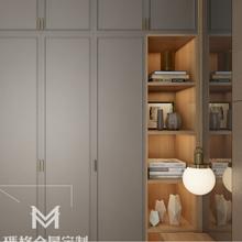 玄关鞋柜定制款式现代简约玛格全屋定制酒柜餐边柜衣柜上海玛格安装