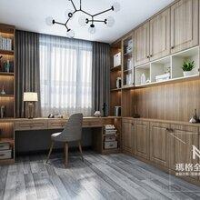 玛格现代极简全屋定制客厅餐边柜上海玛格安装书房衣柜书柜玛格设计制作