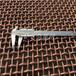 浙江20目大丝黄铜轧花网1.22米宽耐酸碱H85优质纯铜网