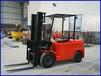 锦旺牌60V载重1吨电动叉车,电力叉车专用于纺织厂