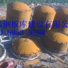 长期供应大型粉煤灰储罐,粉煤灰钢板仓-华伟钢板仓公司制造