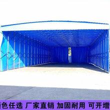大型仓储雨棚定做移动户外遮阳棚厂优游_推拉遮阳仓库篷图片