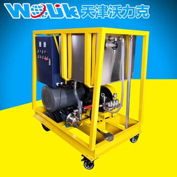 河北压清洗机疏通列管用设备,高压水射流清洗机