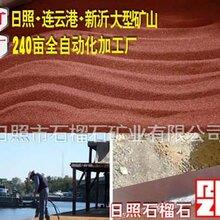 喷砂机生产厂家推荐优质喷砂磨料石榴石砂