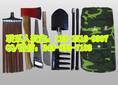 防汛抢险单兵工具包+便携式防汛救援组合工具包19件套+防汛工具