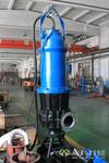 不阻塞潜水螺旋离心泵_QLX大流量潜水排污泵图片