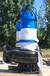 潜水污水泵WQ型号_干式电机排污泵