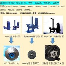 WQ/JYWQ/WQAS/WQBS潜水潜污泵_不阻塞切割型