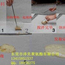 广东东莞黄江聚氨酯填充保温料组合聚醚AB料聚醚图片