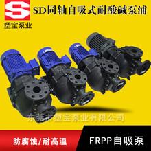 HD-40014同轴耐空转自吸泵塑宝耐酸碱自吸泵1件起批图片