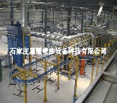 金刚网喷涂设备生产线
