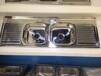佛山水槽厂出口1.5米一体拉伸成型单盆/双盆带板高级不锈钢水槽WY-15050