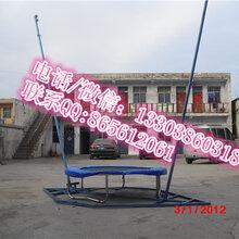 新疆优质儿童蹦极生产厂家四人移动蹦极图片