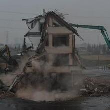 金山廣告牌拆除,金山儲油罐拆除,金山幕墻拆除(無憂價高)圖片