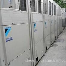 安庆三洋中央空调回收价格行情,德州风冷热泵冷水机组回收图片