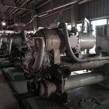 厦门特灵中央空调回收价格行情,厦门风冷热泵冷水机组回收图片