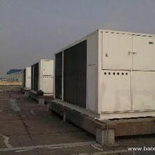 杭州特灵中央空调回收价格行情,铜陵风冷热泵冷水机组回收图片