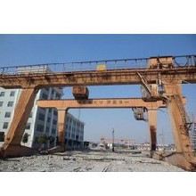 上海起重设备回收公司(二手行车回收)桥式行车回收图片