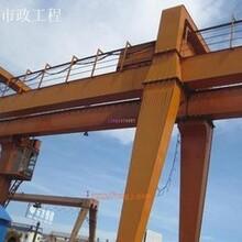 上海闸北起重设备回收公司(二手行车回收)港口吊机回收图片