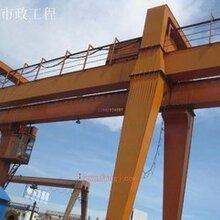 上海閘北起重設備回收公司(二手行車回收)港口吊機回收圖片