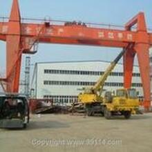 衢州起重设备回收公司(二手行车回收)桥式行车回收图片