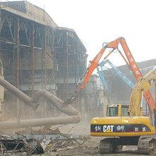 上海虹口室內裝修拆除費用FA商務樓內部裝修拆除BJ隔斷圖片