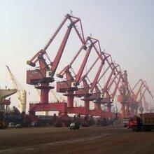 (上海门座起重机回收)淮南港口码头吊机回收领先行业图片