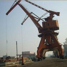(丽水门座起重机回收)苏州港口码头吊机回收市场报价图片