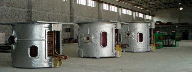 金华中频炉生产线设备回收、二手中频炉回收首选本地区