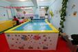 室内儿童泳池设备金太阳厂家亲子游泳池订制安装