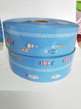 PVC水槽贴热转印花膜美缝条防霉条PVC花膜订作美缝剂热转印膜PVC雨衣花膜热转印加工